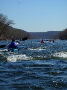 Delaware River Kayaking at Bulls Island