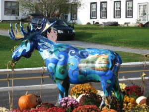 Moose of Route 7