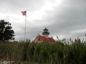 East Point Light with Storm Coming