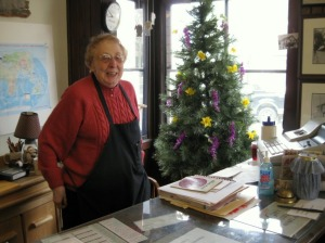 Marilyn Schmidt, Savior and Proprietress of Buzby's General Store in Chatsowrth
