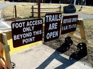 Foot Access Only