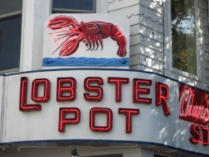 Lobster Pot Restaurant Provincetown Lunch at Lobster Pot