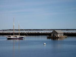 Tall Ship, (sort-of), Mac Millan Wharf, Provincetown