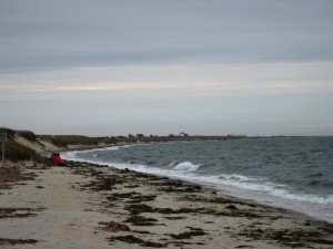 From Harding's Beach to Stage Harbor Light, Chatham, Mass.