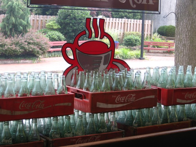 Coke of Yesteryear Ice Cream Parlor MMMM Burlington July 2017