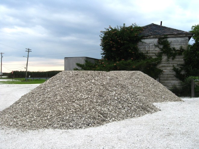 Shell Pile of Shell Pile NJ on Purple Martin Cruise night 2017