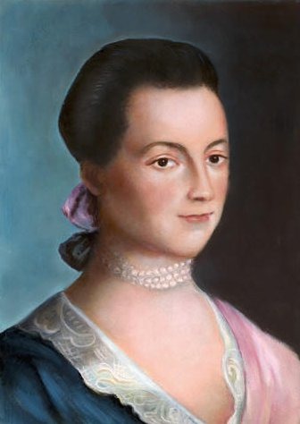 Abigail Adams Portrait from Internet