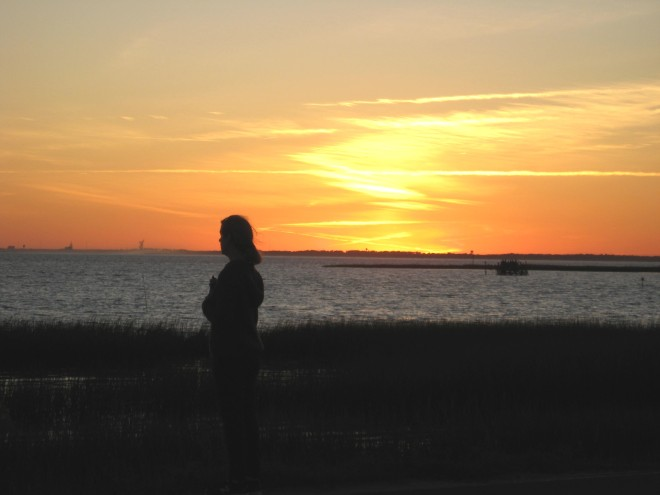 Jeanette First Sunset Assateague Chincoteague Causeway