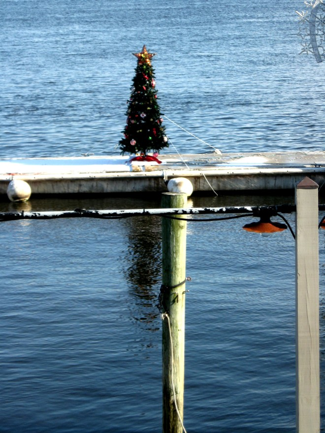Christmas on Sandy Hook Bay Bahrs Jan. 2017