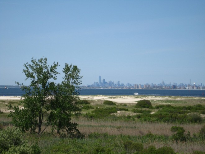 I'll take Manhattan from Sandy Hook Windy Spring 2017 004